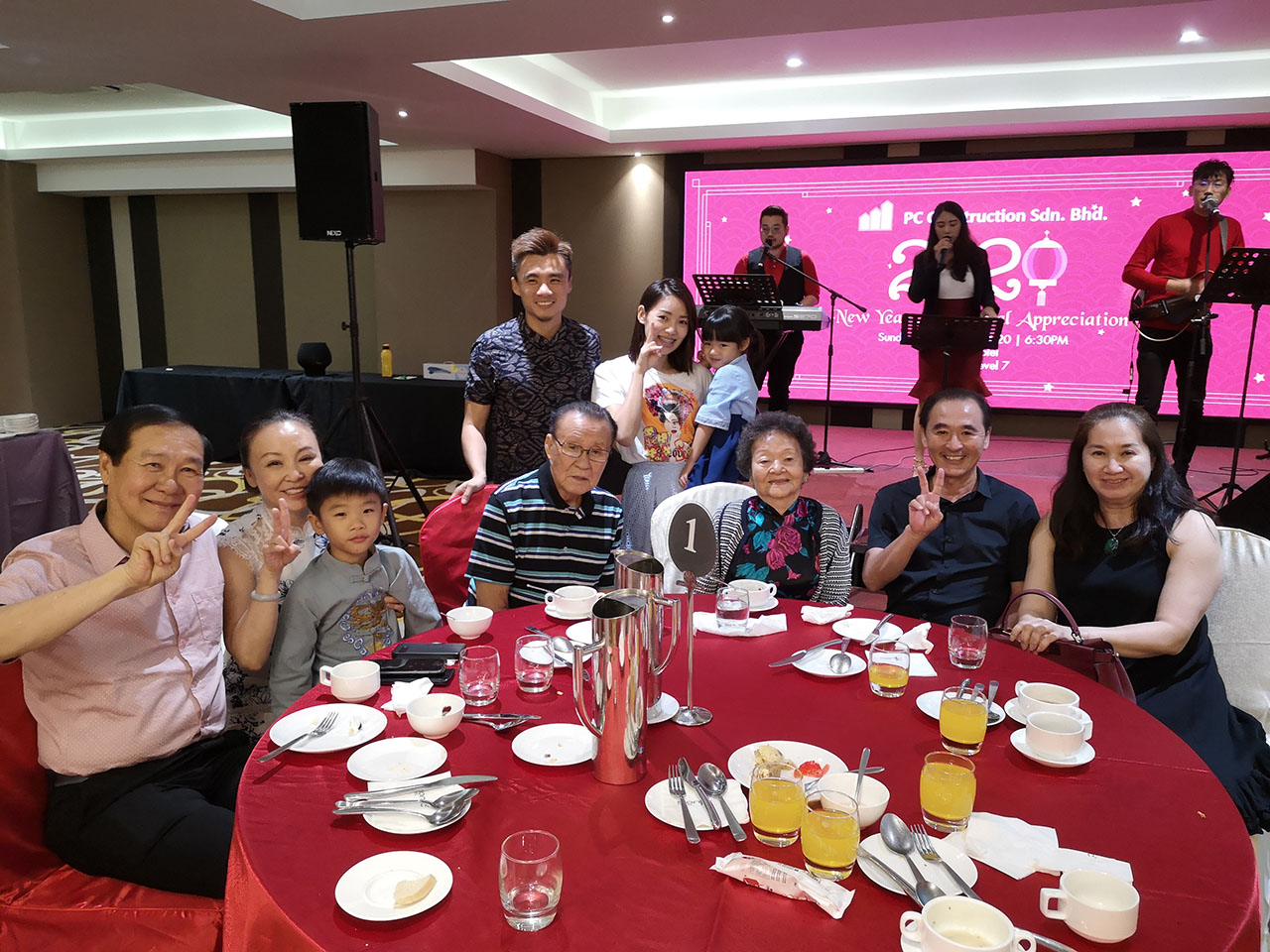 Chinese New Year Annual Appreciation Dinner 2020